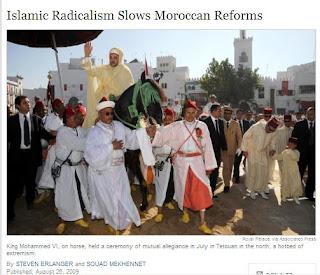 new york times maroc king mohamed VI
