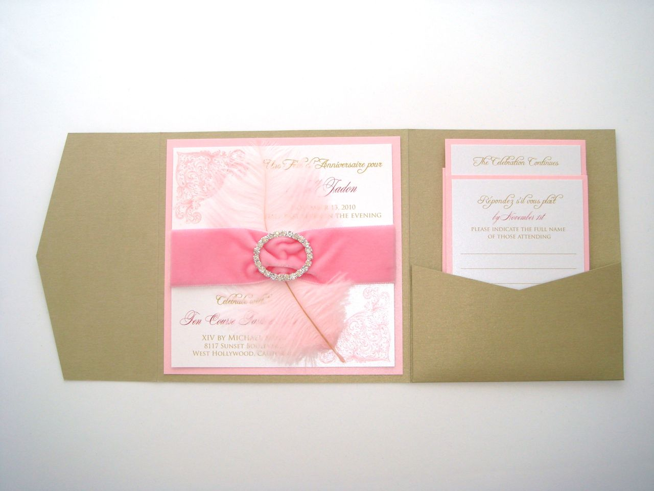 Embellished Paperie: Marie Antoinette Birthday Invitations