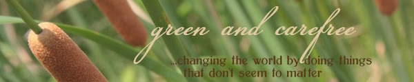 green and carefree