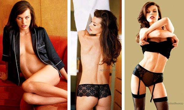 El Desnudo De Milla Jovovich