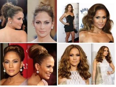 jennifer lopez hairstyles with bangs. Jennifer Lopez Prom Hairstyles