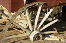My broken wagon wheel, hath bit the dust!