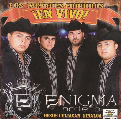 Enigma Norteño - Los Mejores Corridos En Vivo (Disco Oficial 2010)