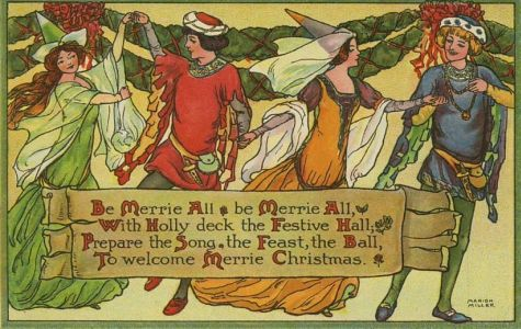 Middle ages Christmas song