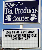 Thank you again Nashville Pet Products