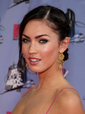 Anti-White cum bucket Megan Fox: all beauty, no brains