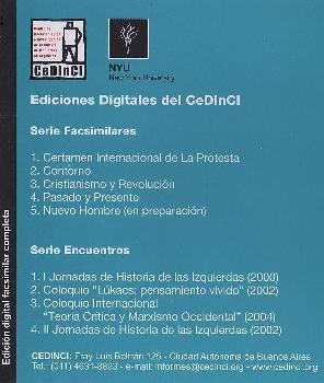 Centro de Documentación e Investigación de la Cultura de Izquierdas en Argentina