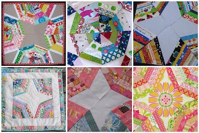 Magpie Quilts: Dresden Star Quilt Block