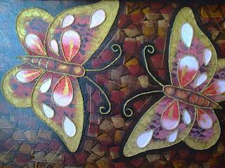 Lukisan kupu - kupu