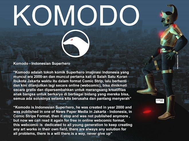 Komodo - Indonesian Superhero