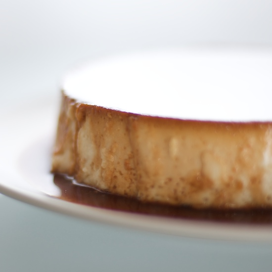 Coconut creme caramel