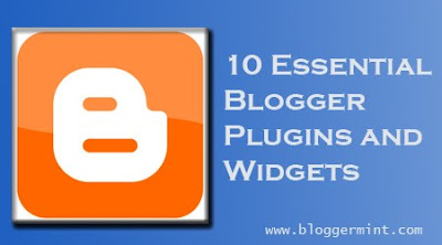 essential blogger plugins and widgets