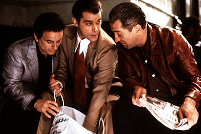 Joe, Robert, and Ray in Goodfellas