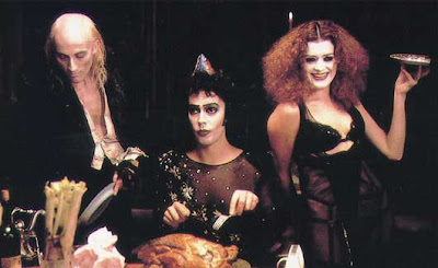Tim, Richard, and Girl In The Rocky Horror Picture Show