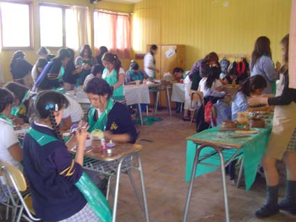 Jornada de Trabajo Miércoles por la tarde, Liceo de niñas Corina Urbina