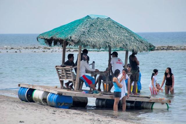Backpack Boy Bataan White Corals Beach Resort