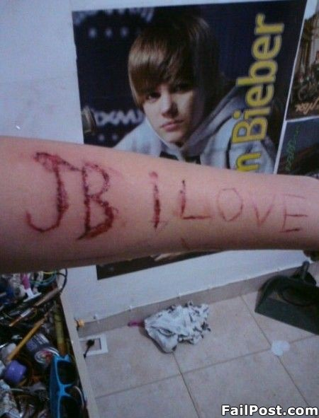 Dumb Emo Justin Bieber Fan. 2:12 PM   Posted by Submitted     Edit Post
