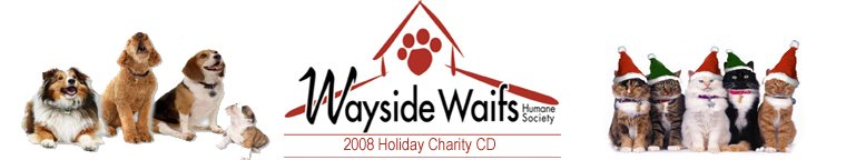 Wayside Waifs Holiday Charity CD