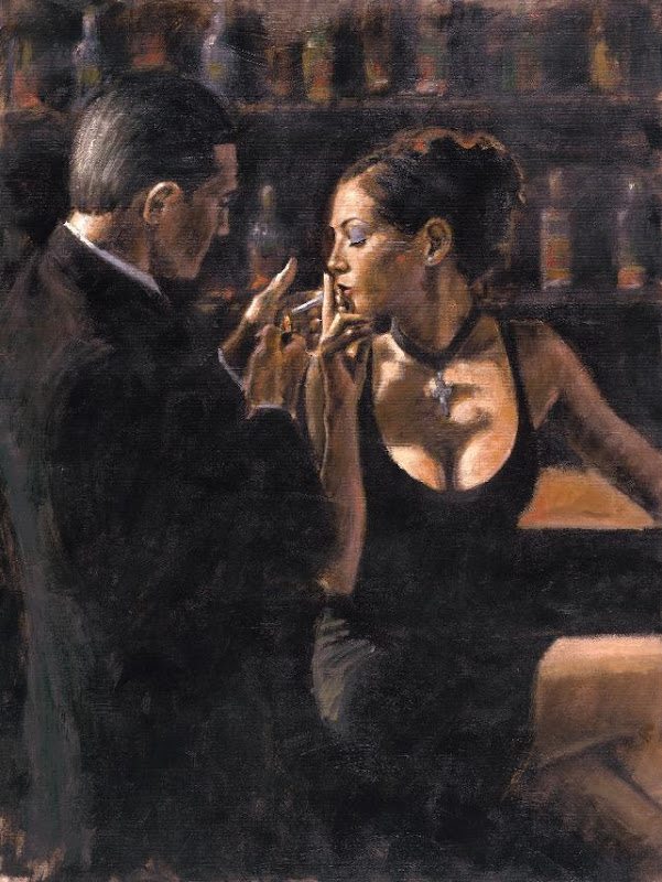 image The tango dancers paintings of richard young