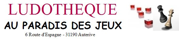 """Ludothèque """"Au Paradis des jeux"""""""