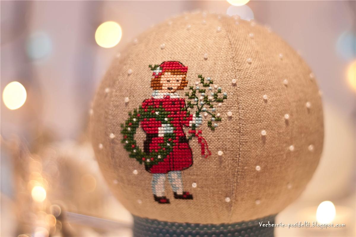 Новогодние шары из ткани своими руками фото 216