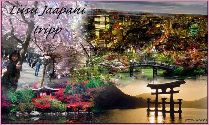 Liisu Jaapani blog. Elust ja olust :)