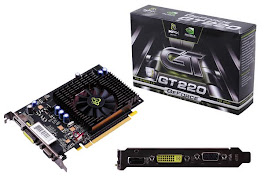 PLACA DE VIDEO GEFORCE GT 220