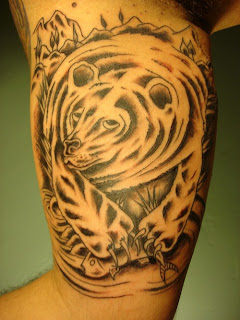 Grizzly Bear Tattoo Picture
