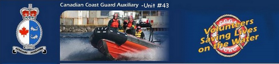 Canadian Coast Guard Auxiliary-Unit #43