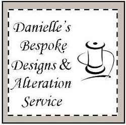 Dress Alterations and Bespoke Dress Design. Please call Danielle for a quote: 07773138458