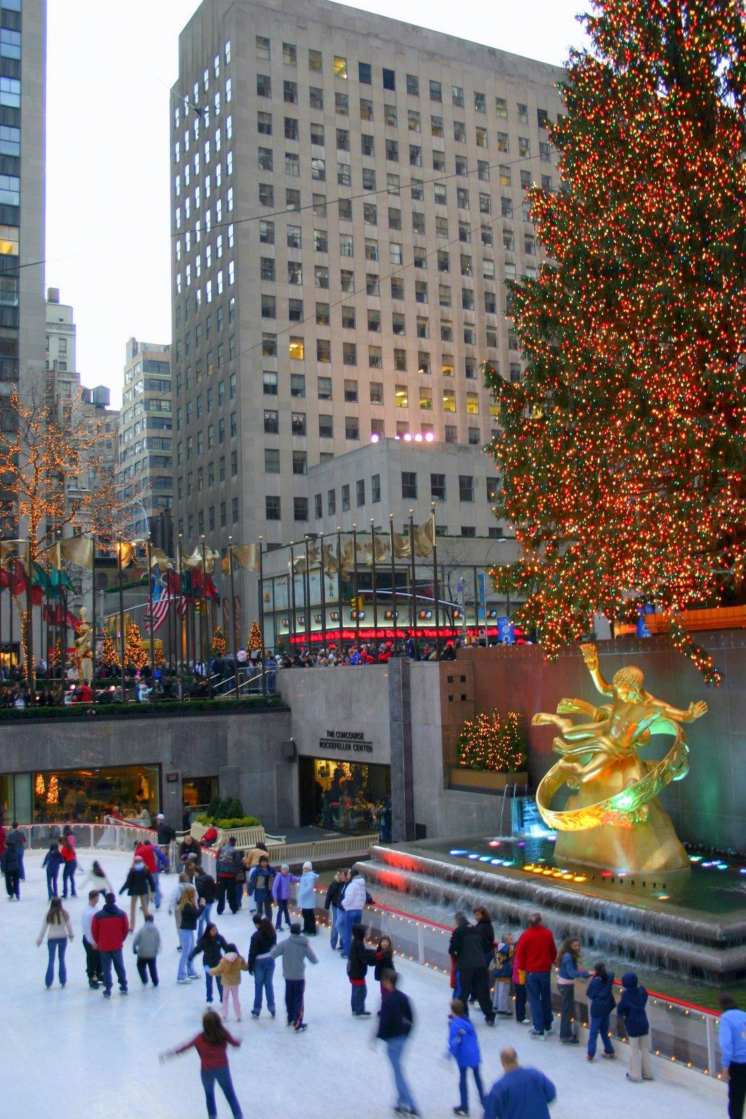 Rockefeller Plaza Christmas Tree Lighting