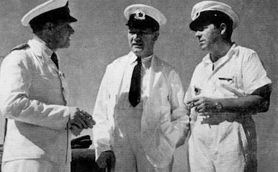 Hakon Mielche ombord på Galathea 2 - ses til højre