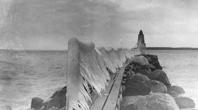 Rødvig Havn 1929 - klik for større billede