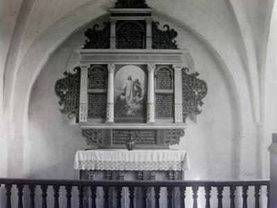Altertavlen fra Højerup Kirke før 1928
