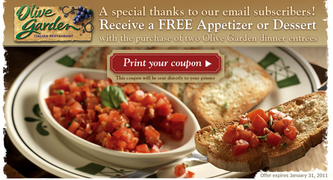 Olive garden catering coupons december 2019