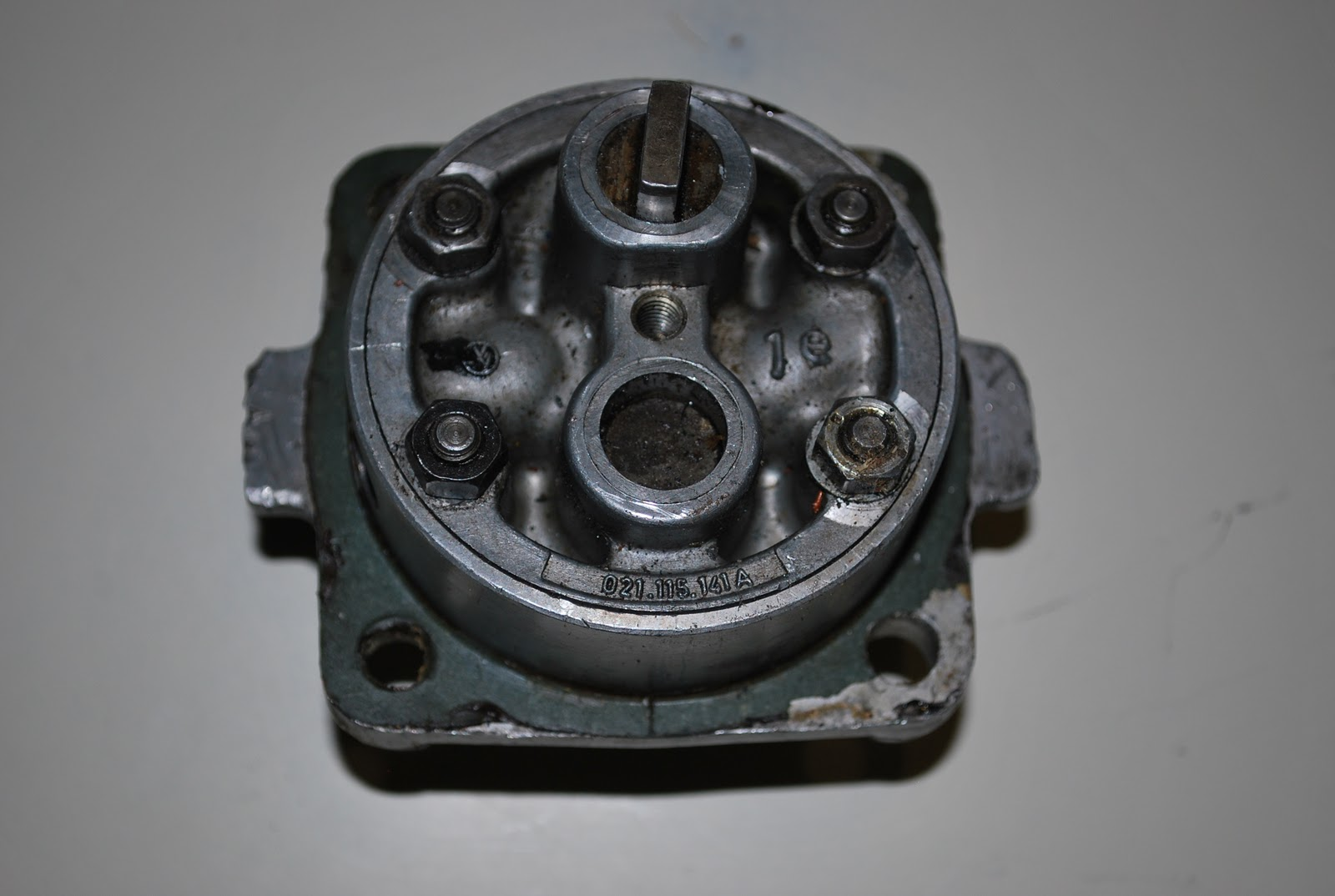 Ron 39 S Vw Bus Blog Type 1 Oil Pump In Type 4 Engine