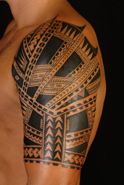 shane tattoos polynesian samoan half sleeve. Black Bedroom Furniture Sets. Home Design Ideas