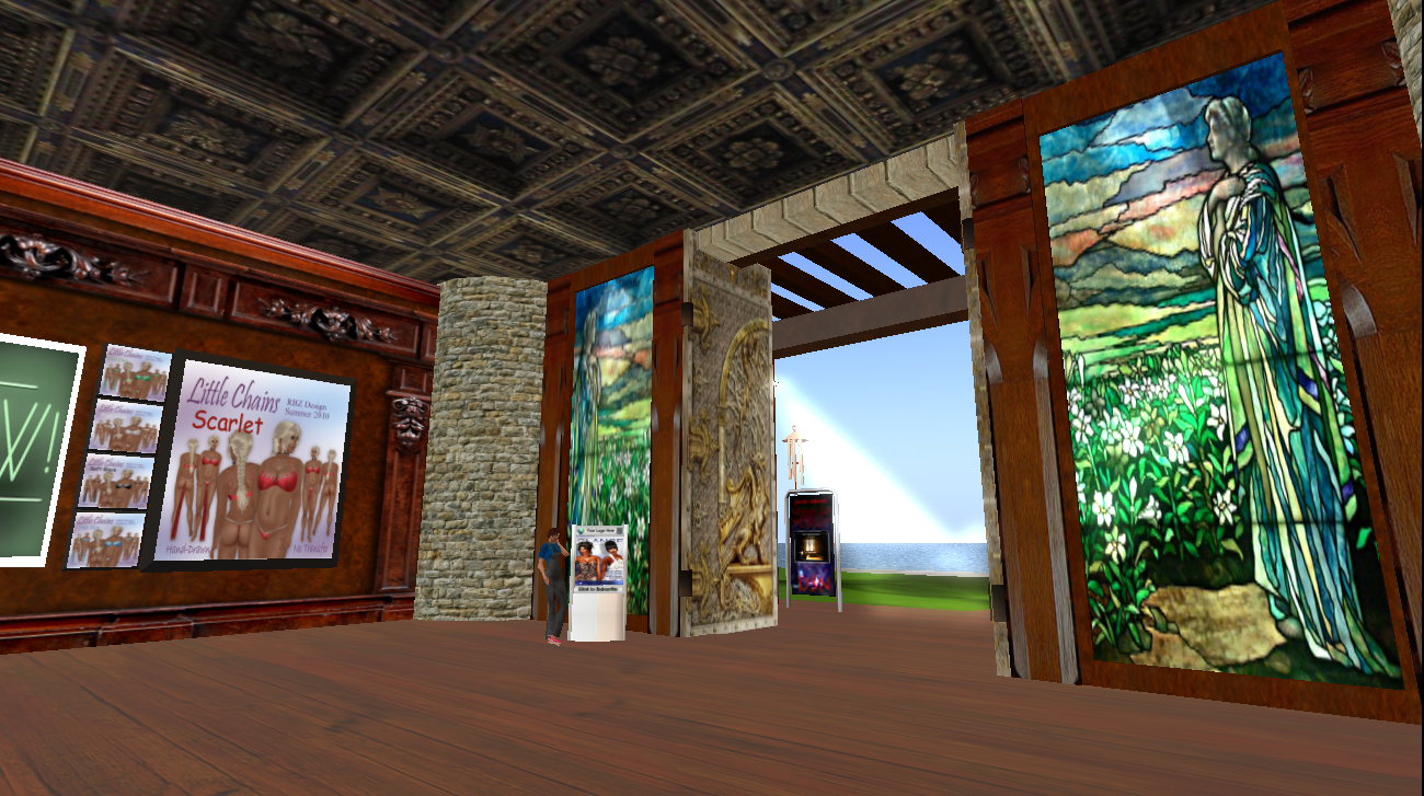 kim's virtual experiences: a couple of interesting store interiors