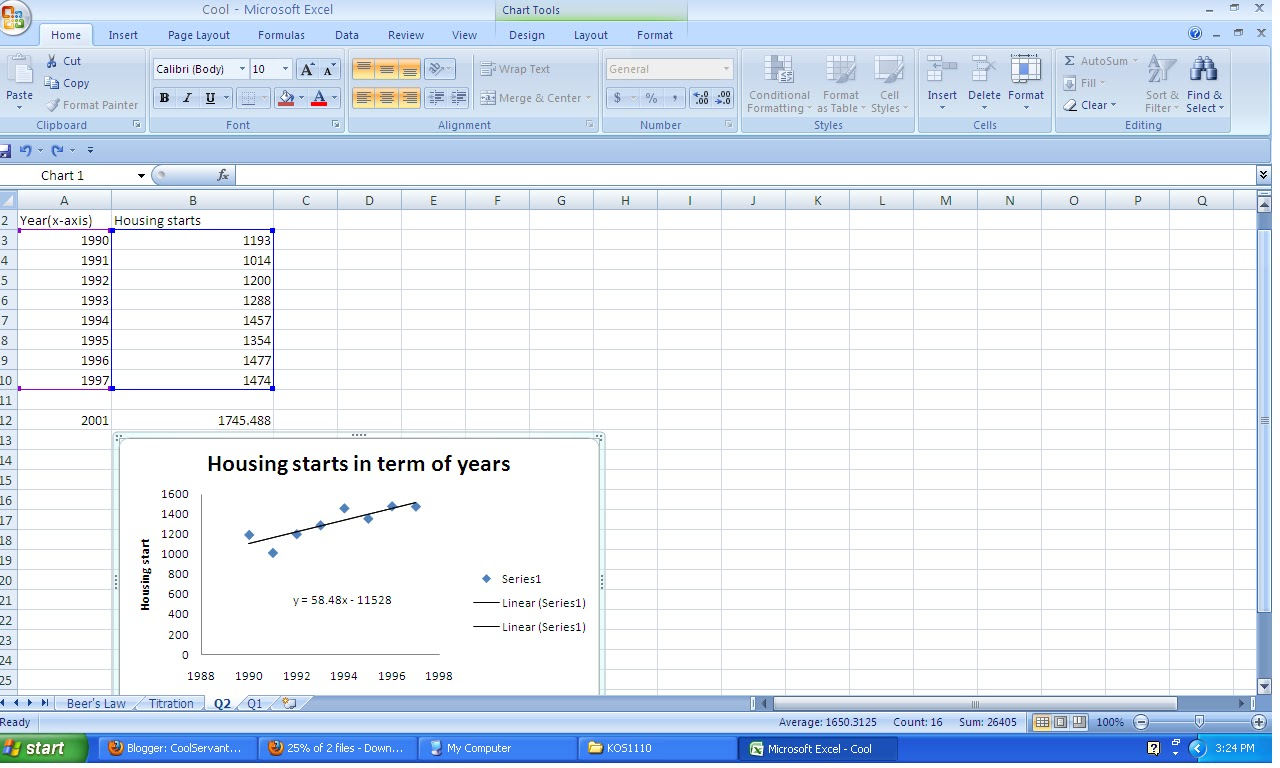 excel assignment 1 Coby harmon, university of california santa barbara 1 econ 136a ais excel assignment the objective of this assignment is to reinforce your understanding of the.