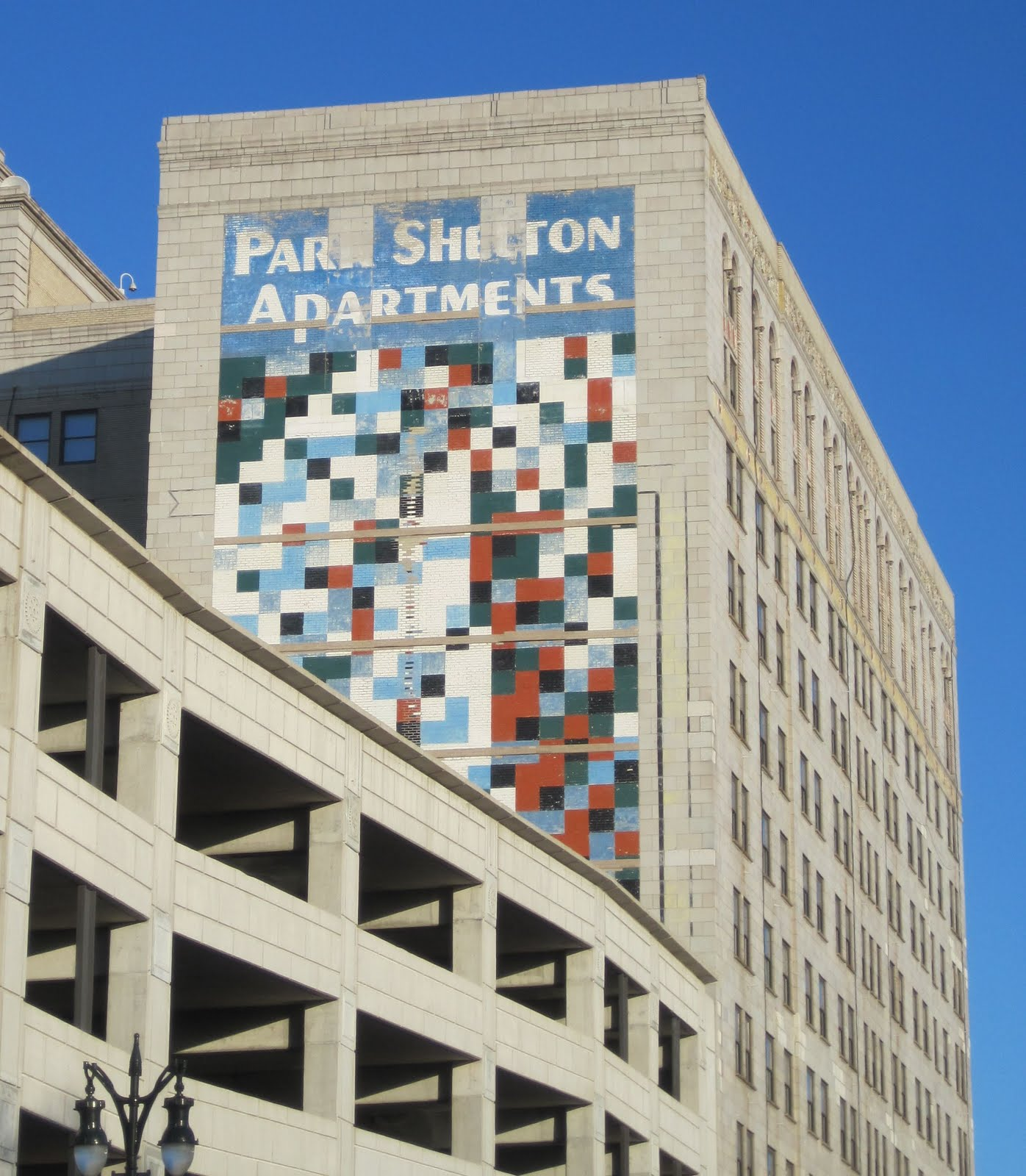 Remembering 39 color cubes 39 downtown detroit 39 s lost public for Mural on building
