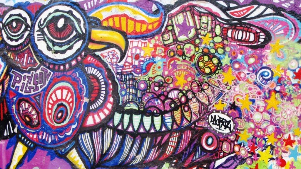 Célèbre Peter's Paris: Urban art, street art, graffiti, tags AF24