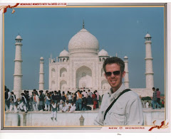 Brent at Taj Mahal