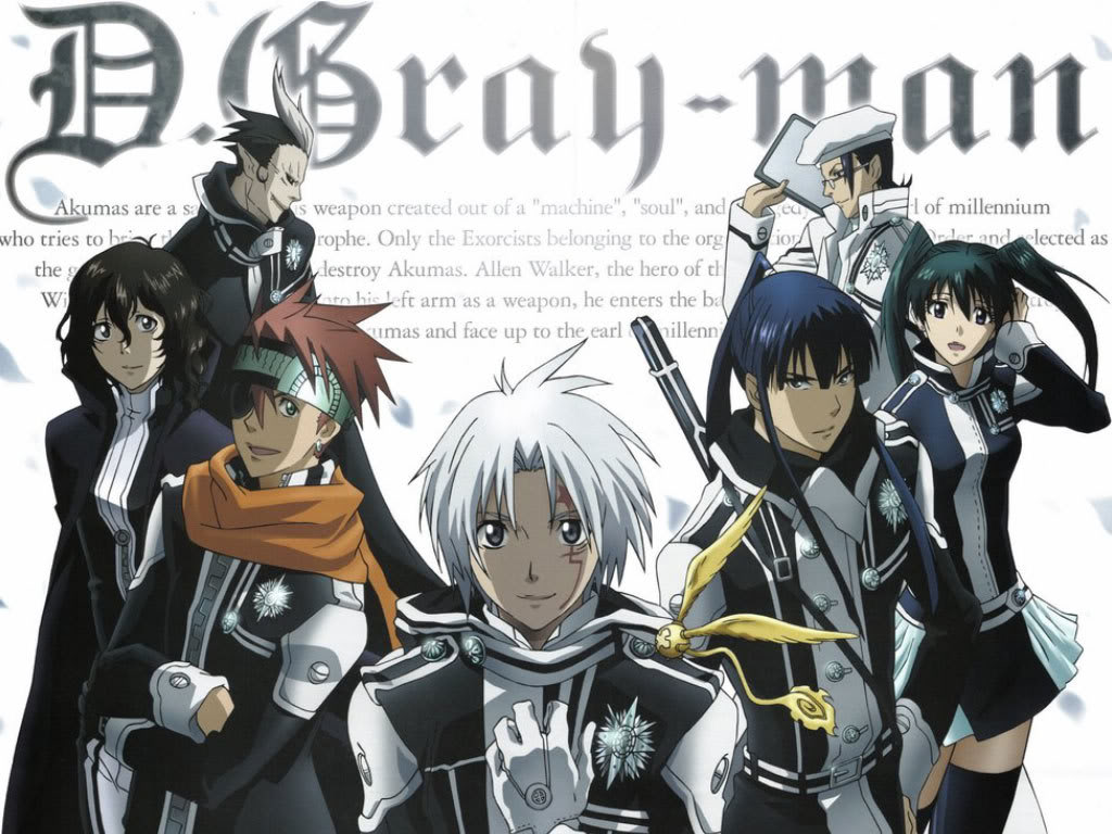 D Gray Man DGray-manTeam