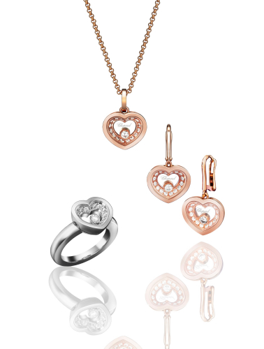 Coming of Age: Chopard Happy family jewelry watches