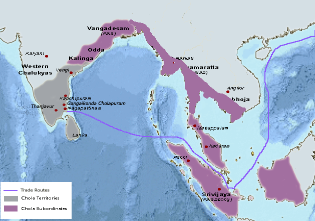 Cat Dirt in Exile: Chola Empire Map