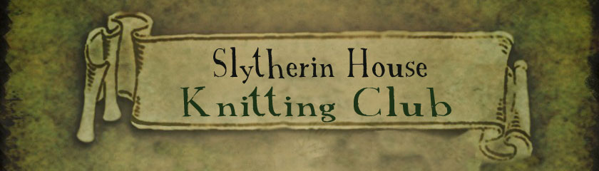 Slytherin House Knitting Club