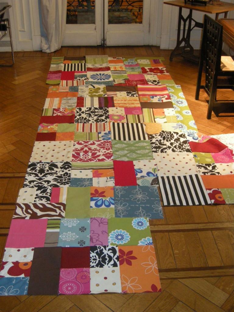 Cecilia koppmann sillones de patchwork - Telas para tapizar un sillon ...