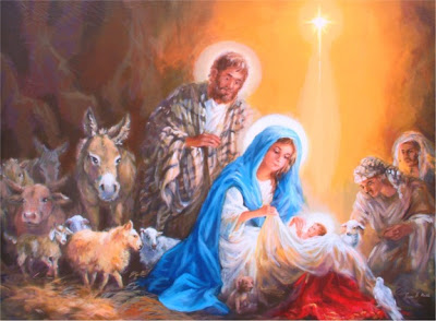 Christmas Nativity Desktop Wallpaper