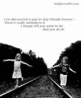 cute friendship quote card