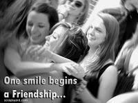 a friendship smile ecard